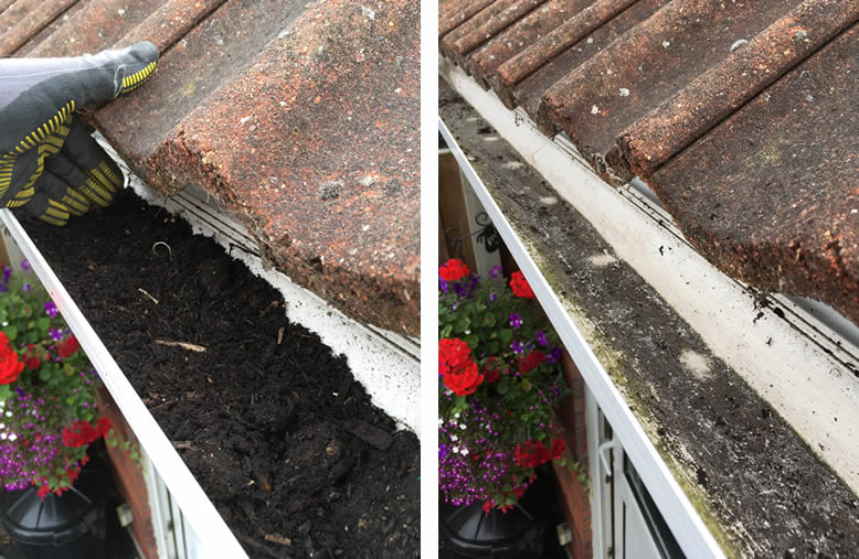 Blocked Gutters