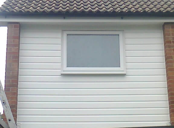 After cladding in PVC